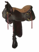 NORTHWEST TUCKER TRAIL SADDLE-TOOLED (BN, BK, GN) 254
