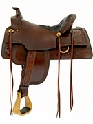 TUCKER ELK HORN SADDLE 281