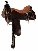 TUCKER OUTFITTER TRAIL SADDLE (BN, BK, GN) 265