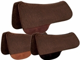 "TUCKER FULL SADDLE PAD-CHOCOLATE FELT (28 or 30"") (BK, BN, GN) 49"