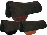 "TUCKER FULL SADDLE PAD-BLACK FELT (28 or 30"") (BK, BN, GN) 51"