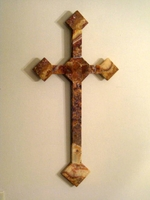Wall Cross - Rojo Onyx