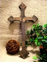 Wall Cross - Emparador Brown