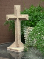 Standing Cross for Tabletop - 3 layer