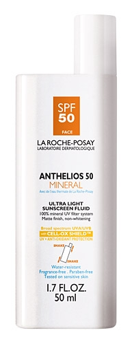 La Roche-Posay Anthelios 50 Mineral Ultra Light Sunscreen Fluid for Face