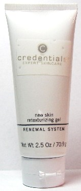 Credentials New Skin Retexturizing Gel