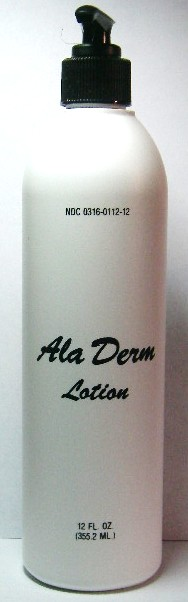 Del-Ray Ala Derm Lotion 12 oz (DC)