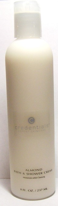 Credentials Almond Bath & Shower Creme 8 oz