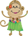 Balloons Girl Monkey Balloon