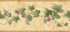 Narrow Ivy Wallpaper Border
