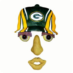 Green Bay Packers Tree Face