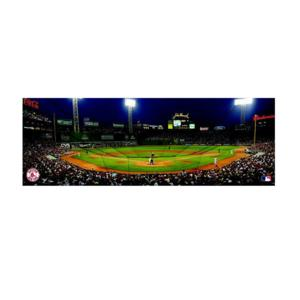 Boston Red Sox Fenway Park Panoramic 12 inch by 36 inch Canvas Art