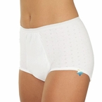 Wearever Super Incontinence Unique-Dri Cotton Underwear Panty