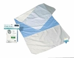 "Quik-Sorb Quilted Birdseye Cotton Incontinence Chair Pad, 17""x24"""