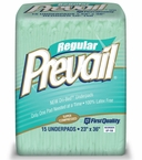 "Prevail Regular Disposable Underpads UP-150 23"" x 36"" Case"
