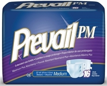 Prevail PM Extended Wear Adult Brief by the Case