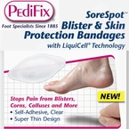 PediFix SoreSpot Blister & Skin Protection Bandages, 4 in a Pack