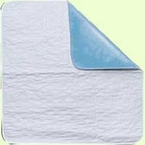 "Waterproof Chair Pads Washable Underpad 18"" x 18"", ReliaMed, Pack of 2"