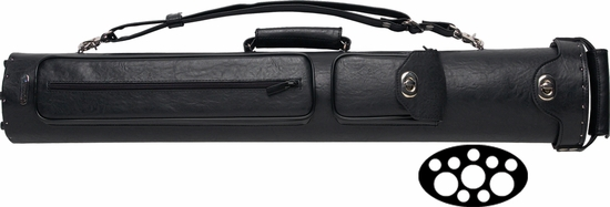 Instroke Pool Cue Case - Premier 3 Butts 7 Shafts