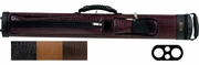 Elite Leatherette 2 Butt 2 Shaft Pool Cue Case