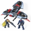 2013 Halo Mega Bloks Set #97102 ONI Light Assault VTOL
