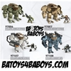 2013 Halo Mega Bloks Set #97104BA BAToys Cyclops Assortment