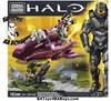 2013 Halo Mega Bloks Set #97110 Covenant Spectre Ambush