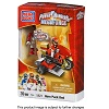 Mega Bloks Power Rangers MegaForce Set #5821 PRMF Red Ranger Hero Racer
