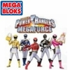 Mega Bloks Power Rangers MegaForce Set #5825 PRMF Black Ranger Hero Racer