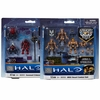 Halo Mega Bloks Set #96958-96959 Covenant Crimson 96959 & UNSC Desert 96958 Combat Units