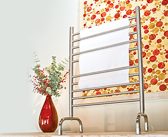 Solo SAFS-24 Freestanding Plug-In Towel Warmer by Amba Towel Warmers