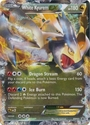 White Kyurem EX BW63 - Pokemon Ultra Rare Promo Card