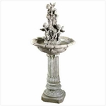 Cherub Garden Fountain