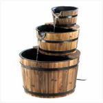 Apple Barrel Fountain