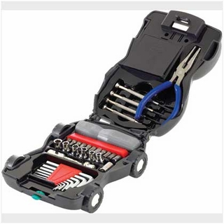 34-Piece Car Toolkit with Light
