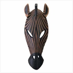 African Zebra Animal Mask