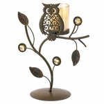 Wise Owl Votive Stand