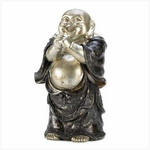 Happy Standing Buddha Figurine