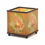 Prayer Cube Candleholder