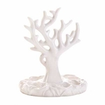 White Coral Jewelry Holder