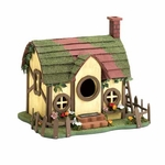 Quaint Cottage Bird House