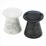 Black & White Oil Warmers