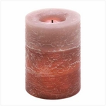 Rustic Wood Spice Flameless Candle