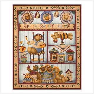Home Sweet Home Fleece Blanket