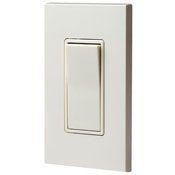 Leviton White Decora Rocker 15A 3-way Switch 5613-2W