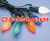 Holiday Lights C-7 and C-9 Strings for Christmas Lights