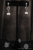 Silver-white freshwater pearl