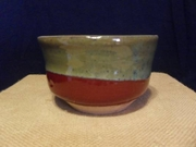 Red and Green Bowl by James Rabourne