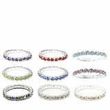 Crystal Rhinestone Stretch Eternity Band Toe Ring