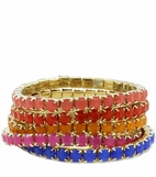 Brights Five Bracelet Stack